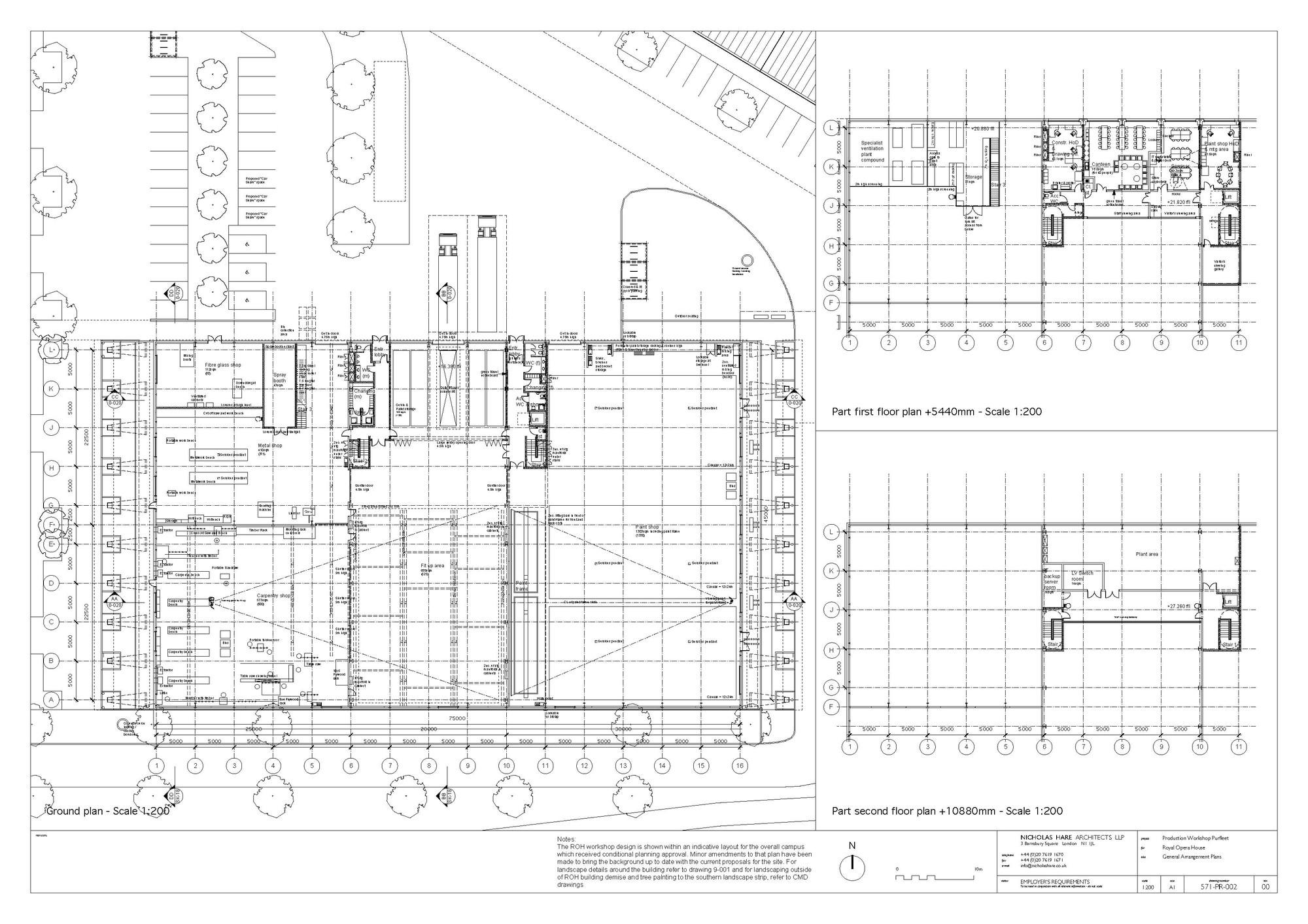 royal opera house floor plan