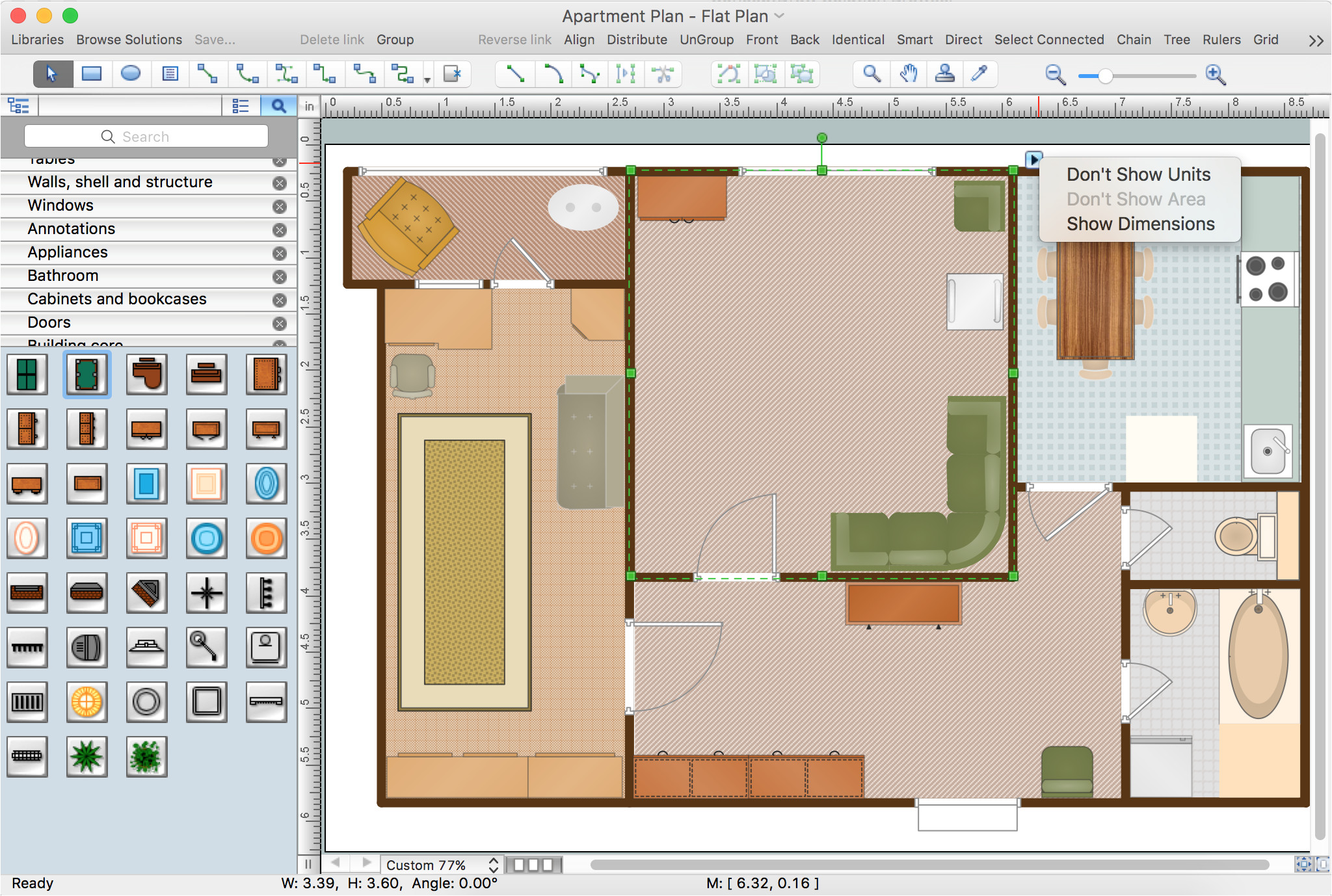 program to draw floor plans