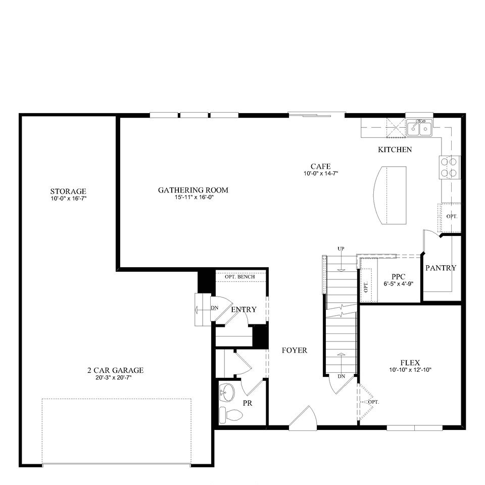 pulte homes floor plans mn