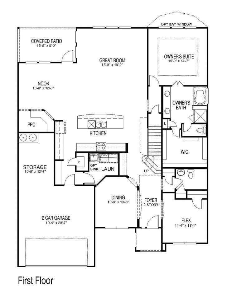 pulte homes floor plan archive