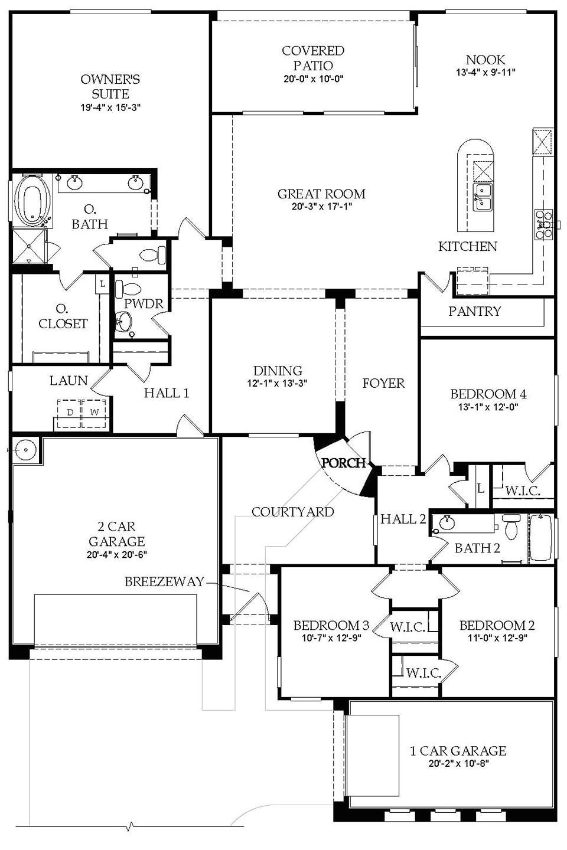 pulte home plans