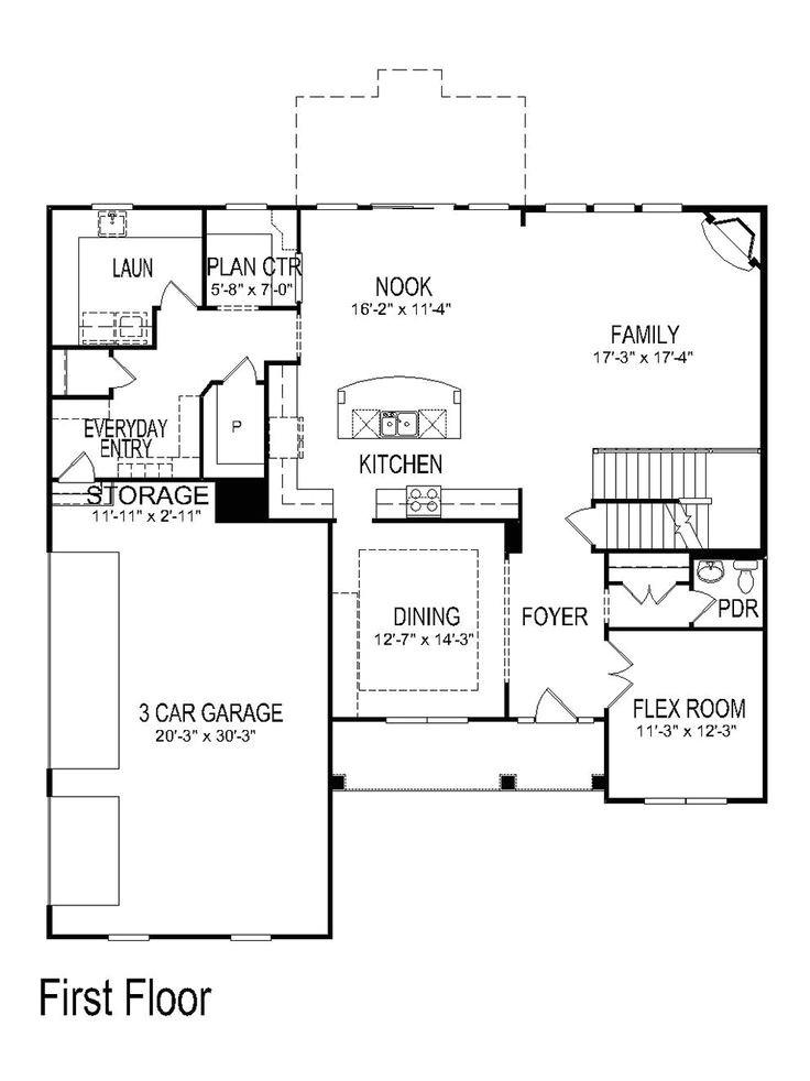 pulte homes floor plans 2005