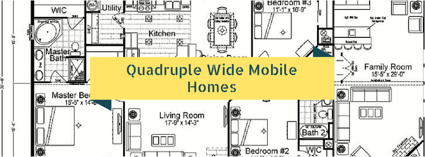 the benefits of quadruple wide mobile homes