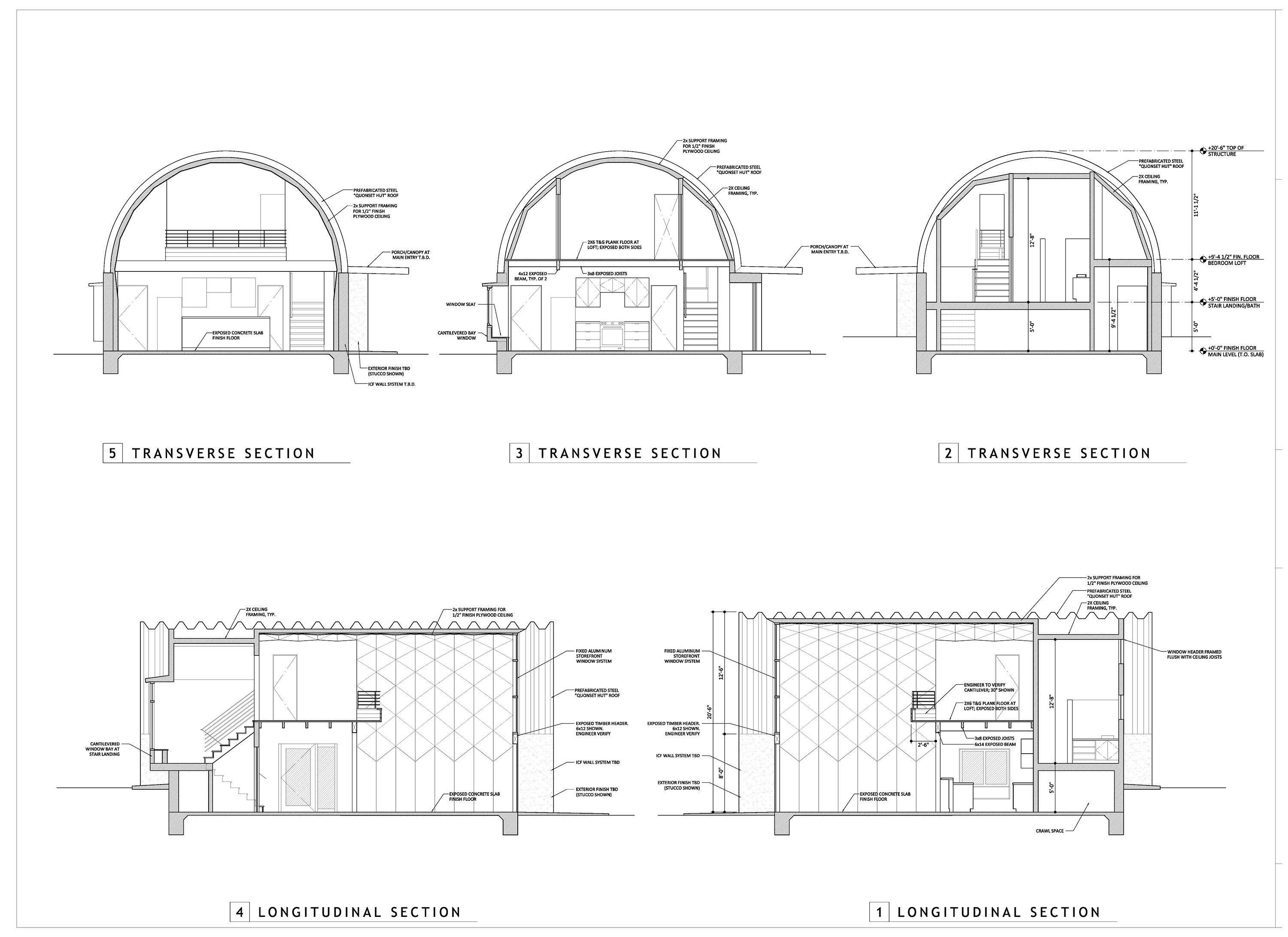quonset hut home floor plans