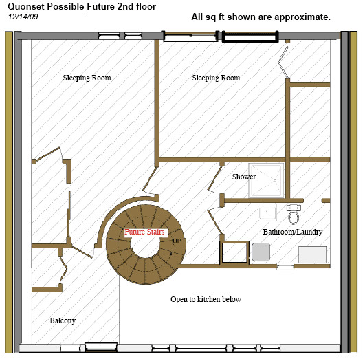 quonset house floor plans