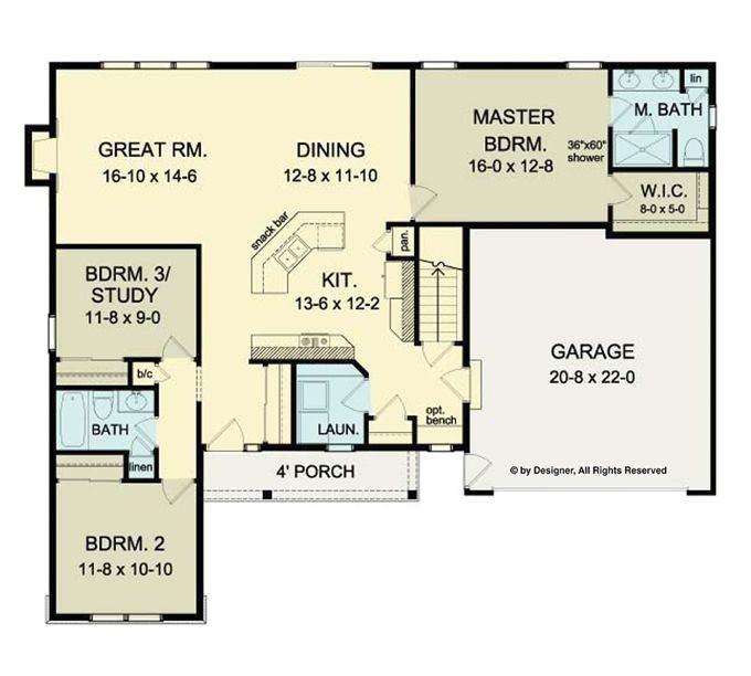 open floor plans ranch homes