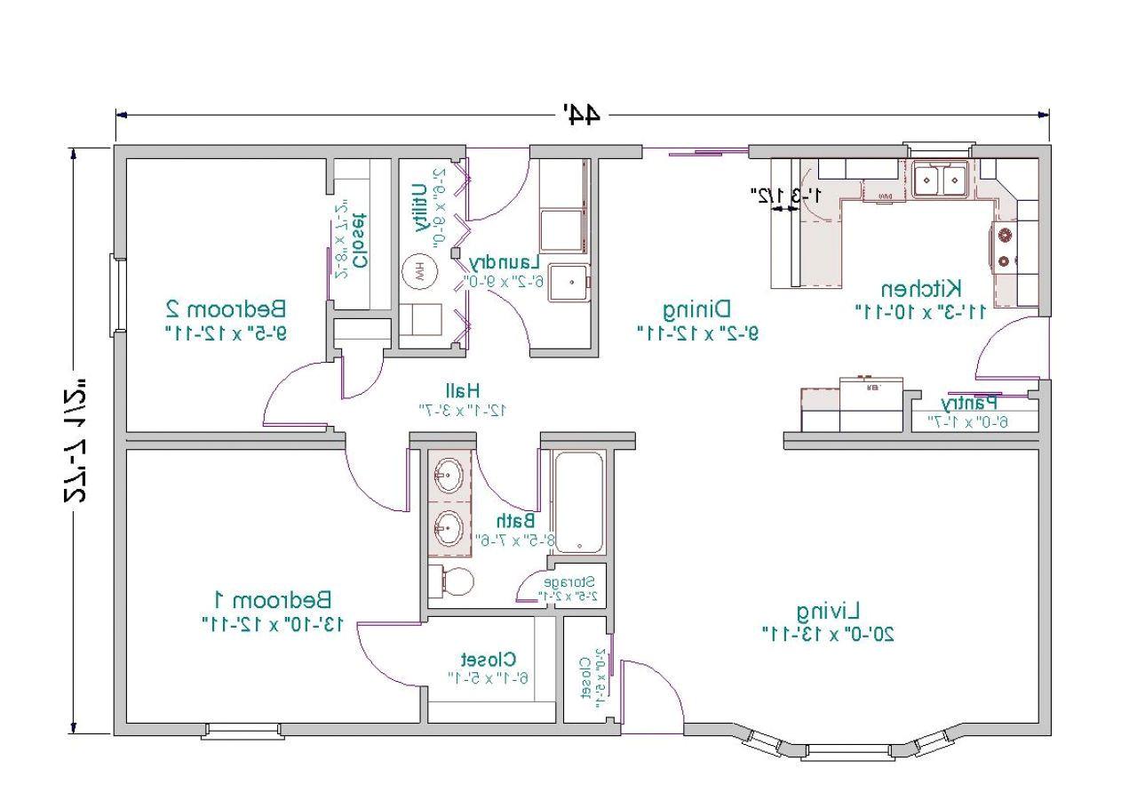 open floor ranch house plans