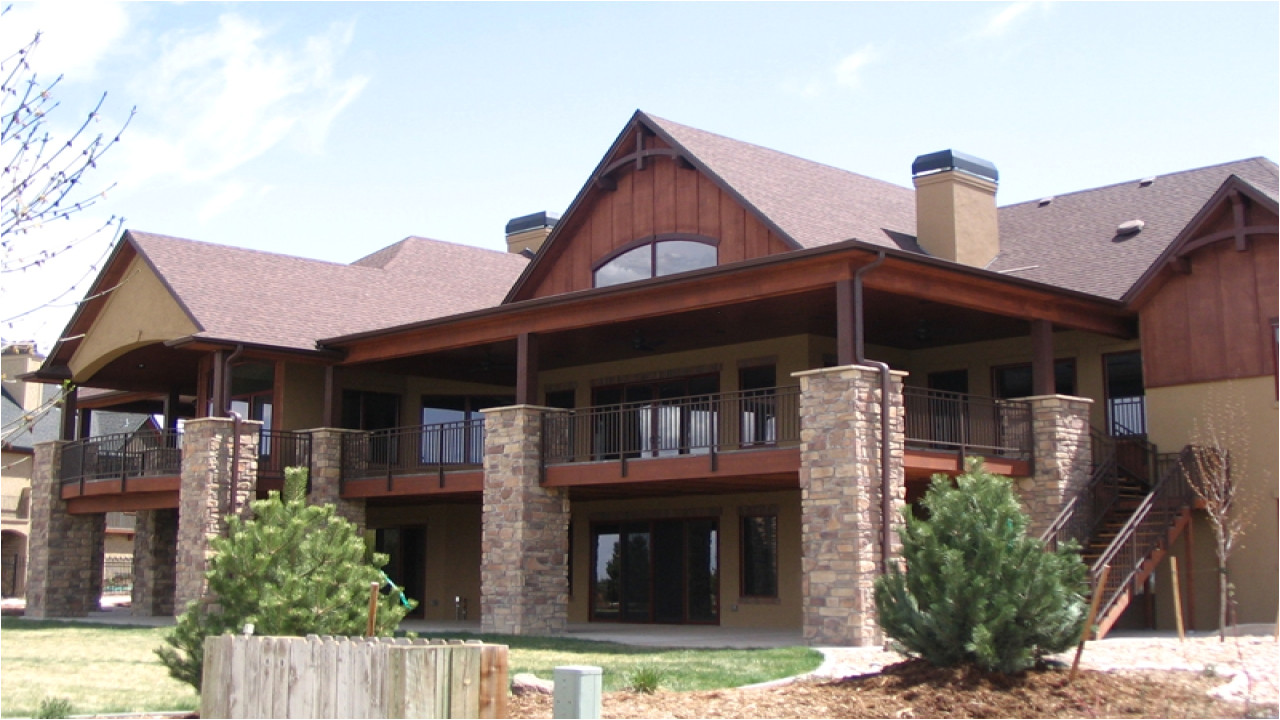 mountain house plans with walkout basement mountain ranch 9223474976ce7671