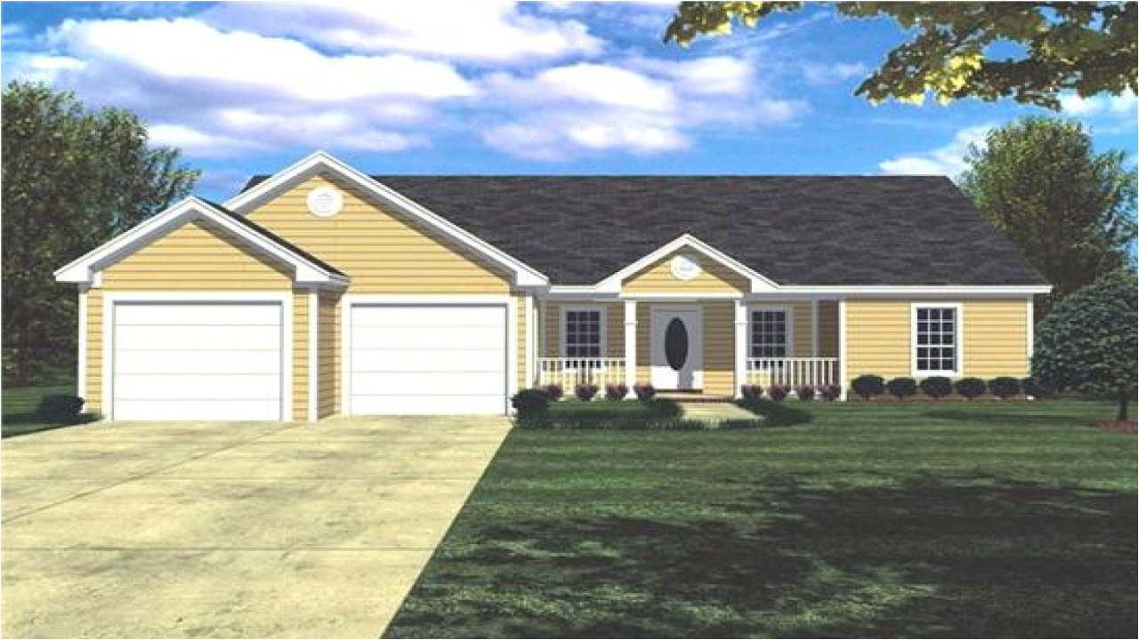 simple ranch style house plans