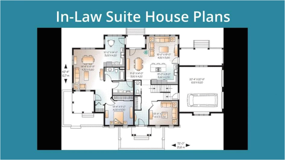 house plans with inlaw suite on first floor