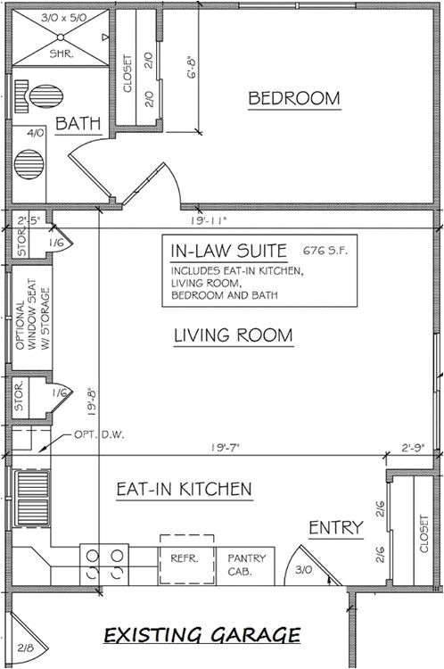 ranch style house plans with mother in law suite