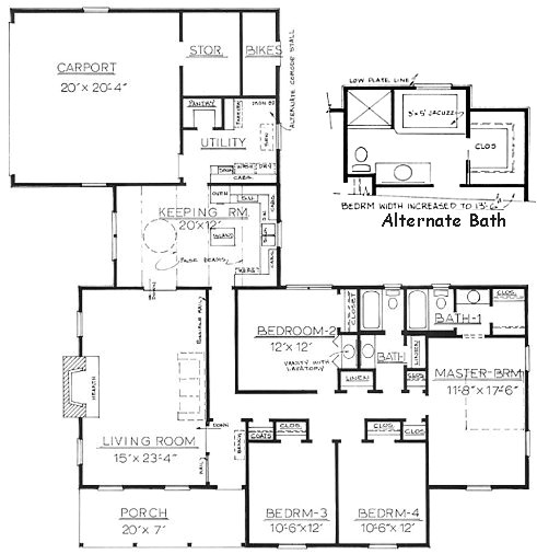 house plans ranch with mother in law suite