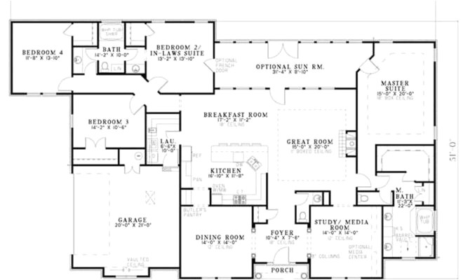 mother in law apartment house plans