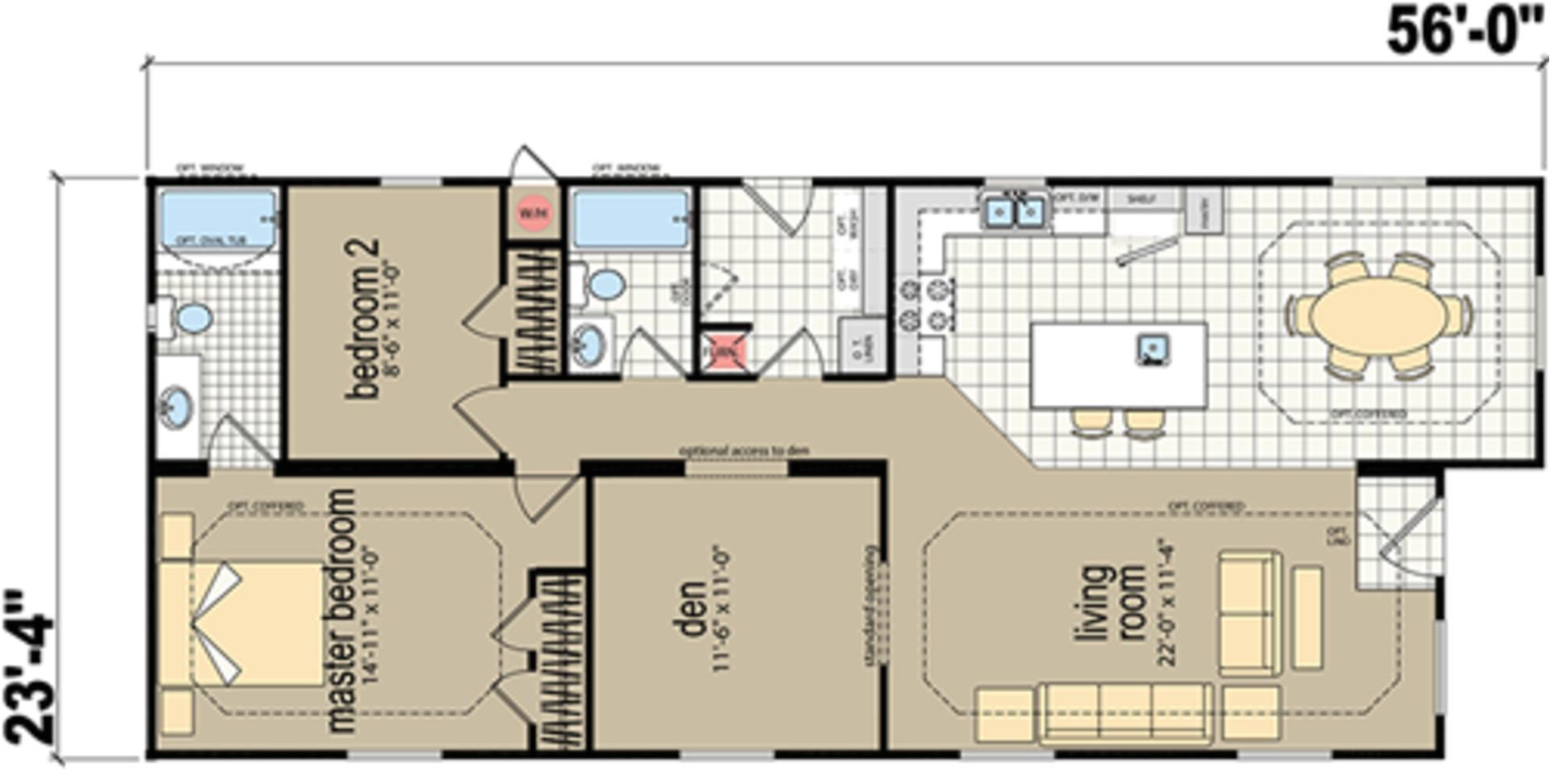 redman floor plans