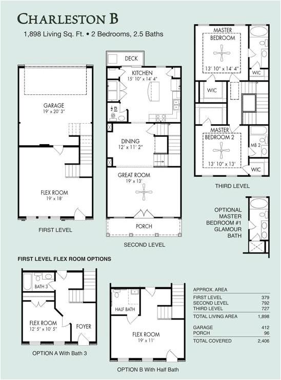 Regent Homes Floor Plans Charleston B Live Work Floor Plans Regent Homes