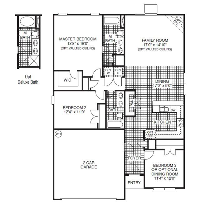 Regent Homes Floor Plans Davidson Highland Hills Lyman south Carolina D R