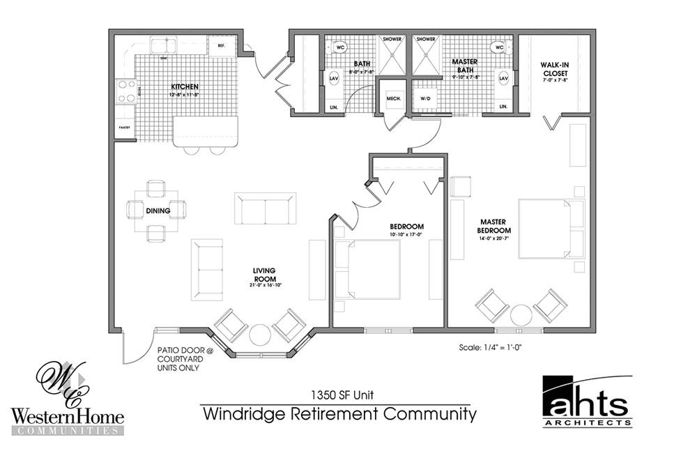 inspiring retirement home plans 7 retirement home floor plans