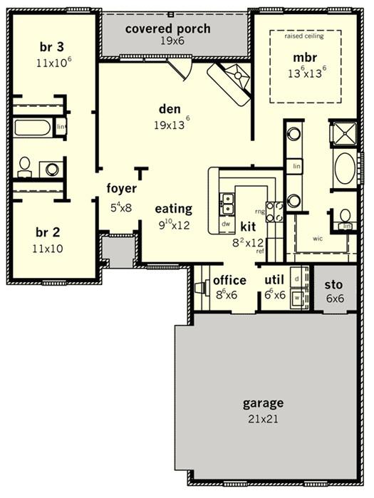 floor plans for small retirement homes