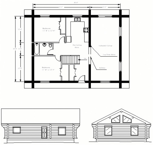new small retirement home plans