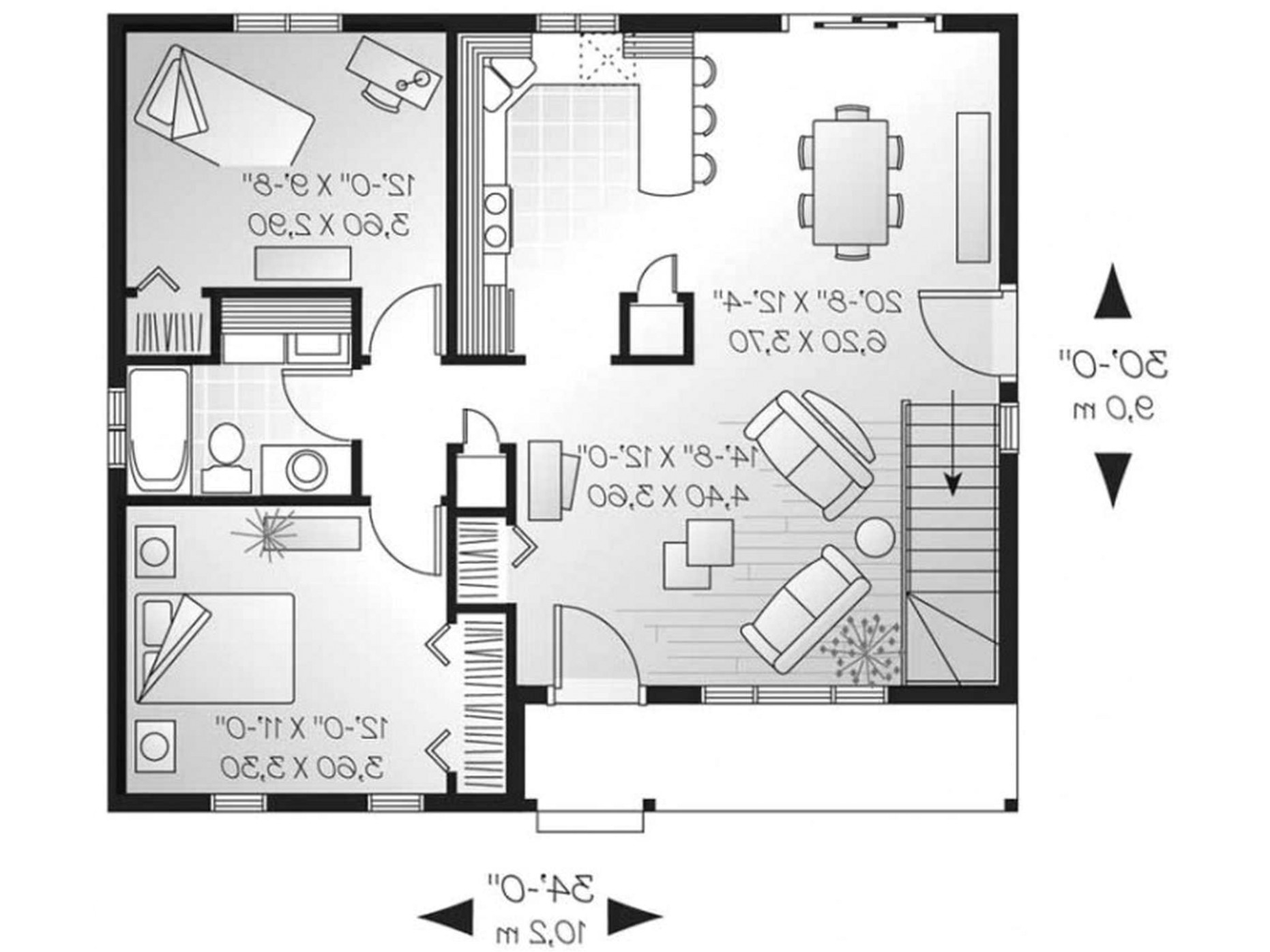retirement house plans small
