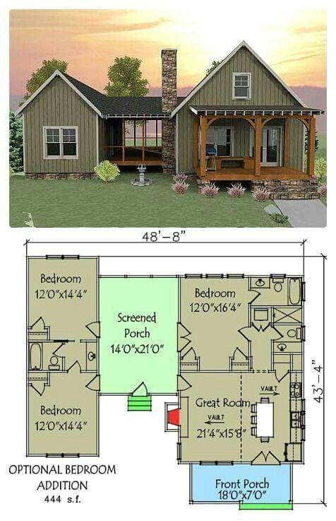 small retirement house plans