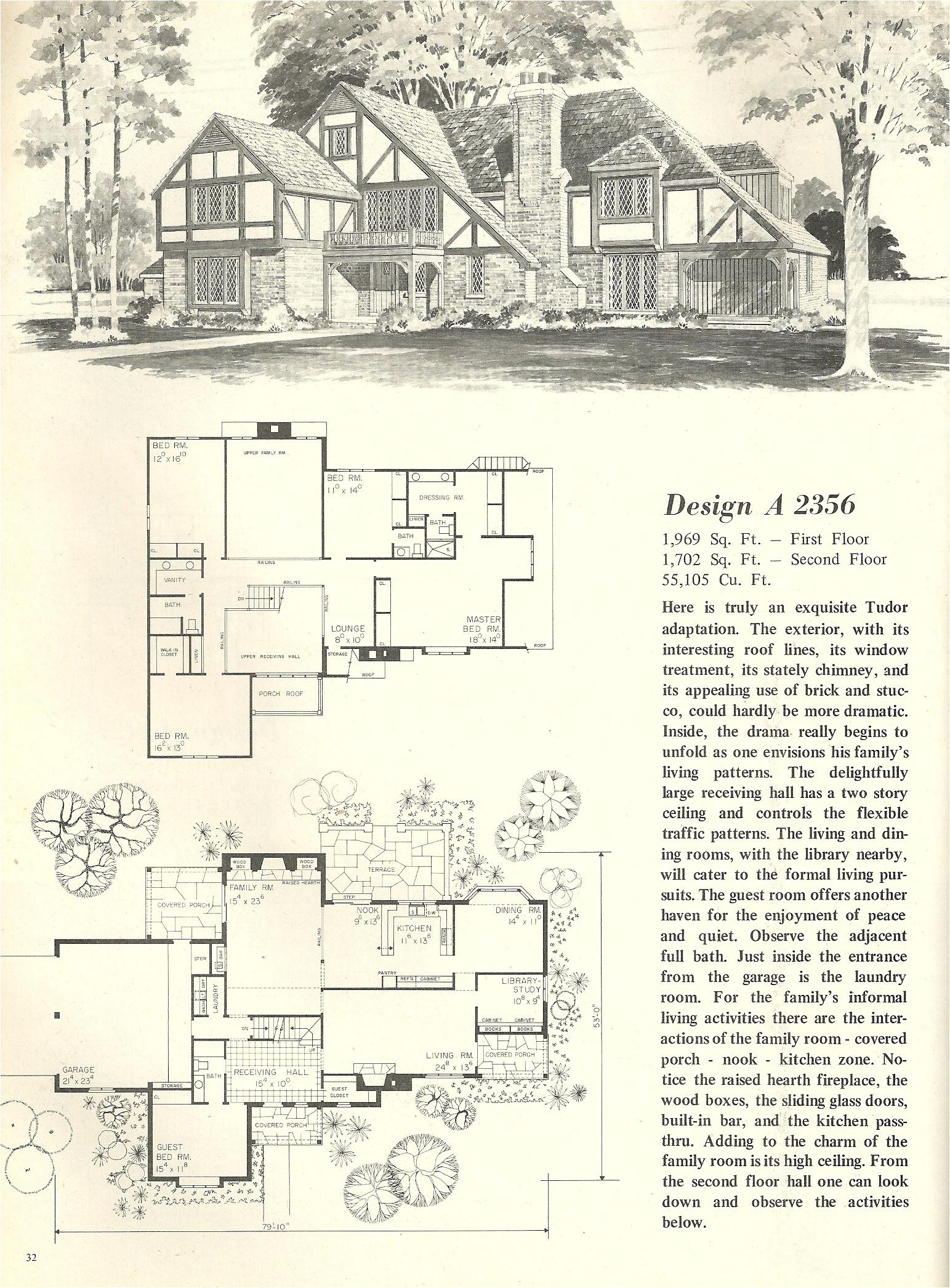 vintage house plans 2356