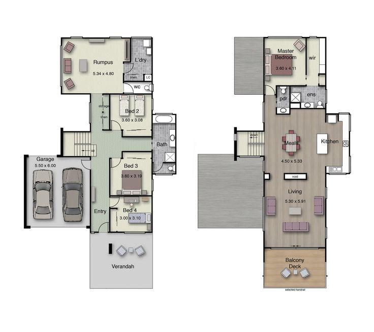 Reverse Living Beach House Plans Reverse Floor Plans for Beach Houses