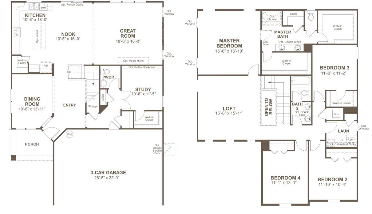 richmond homes colorado springs floor plans
