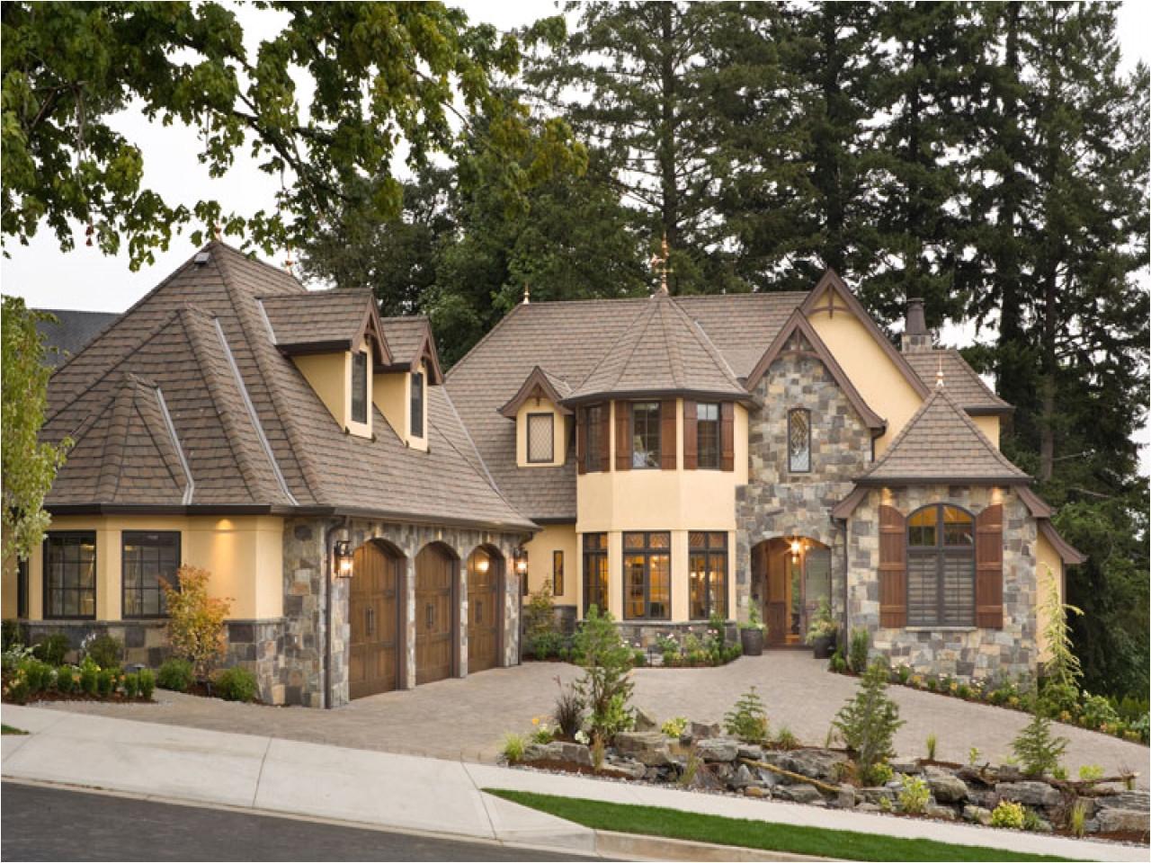 stone cottage house plans