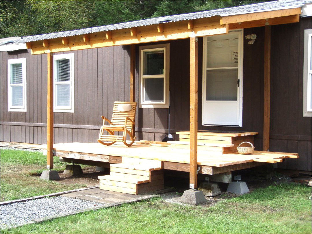 Roof Over Mobile Home Plans Plougonver Com