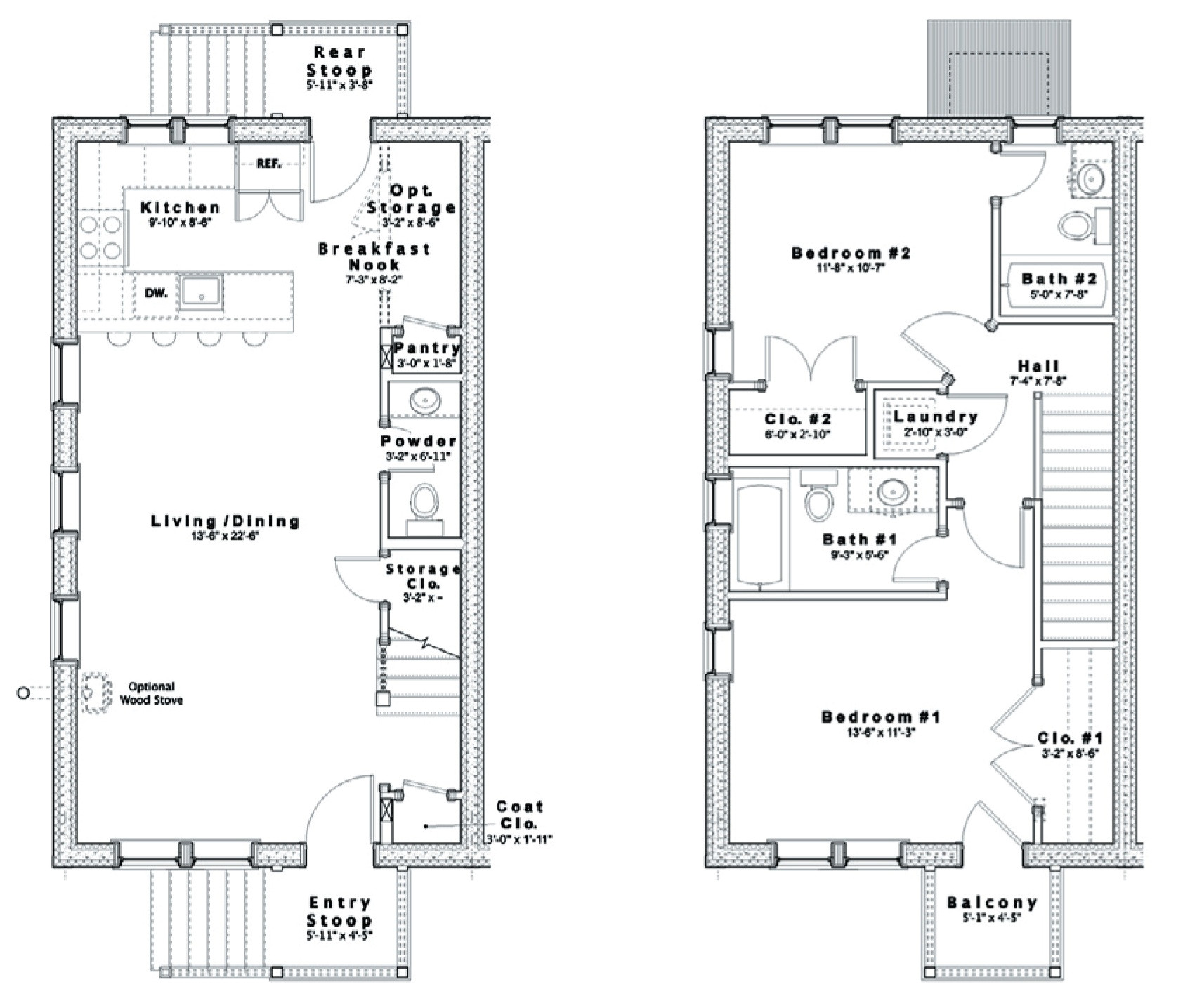 rowhouse plans