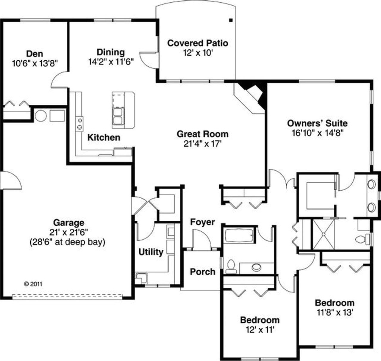 simple rustic house plans