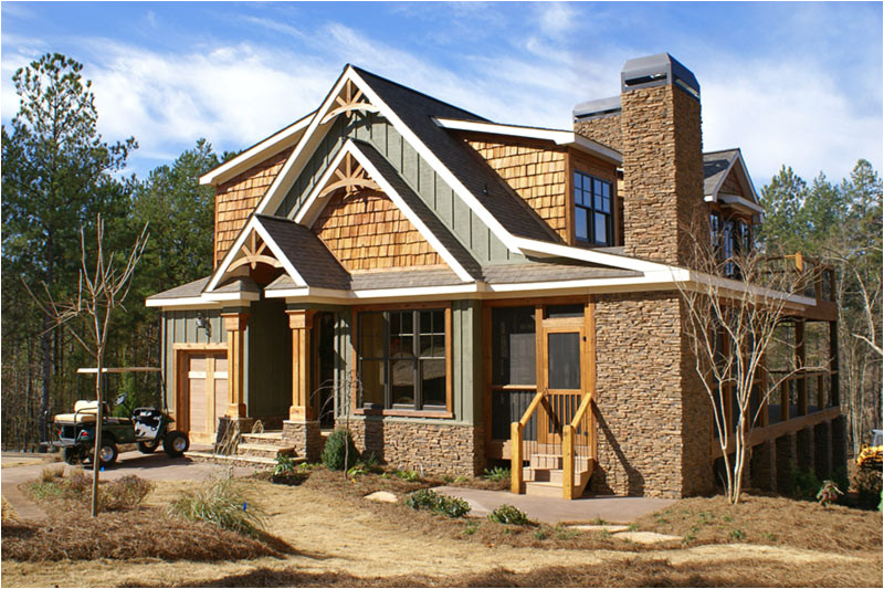 Rustic Lake Home Plans Rustic House Plan with Porches Stone and Photos Rustic