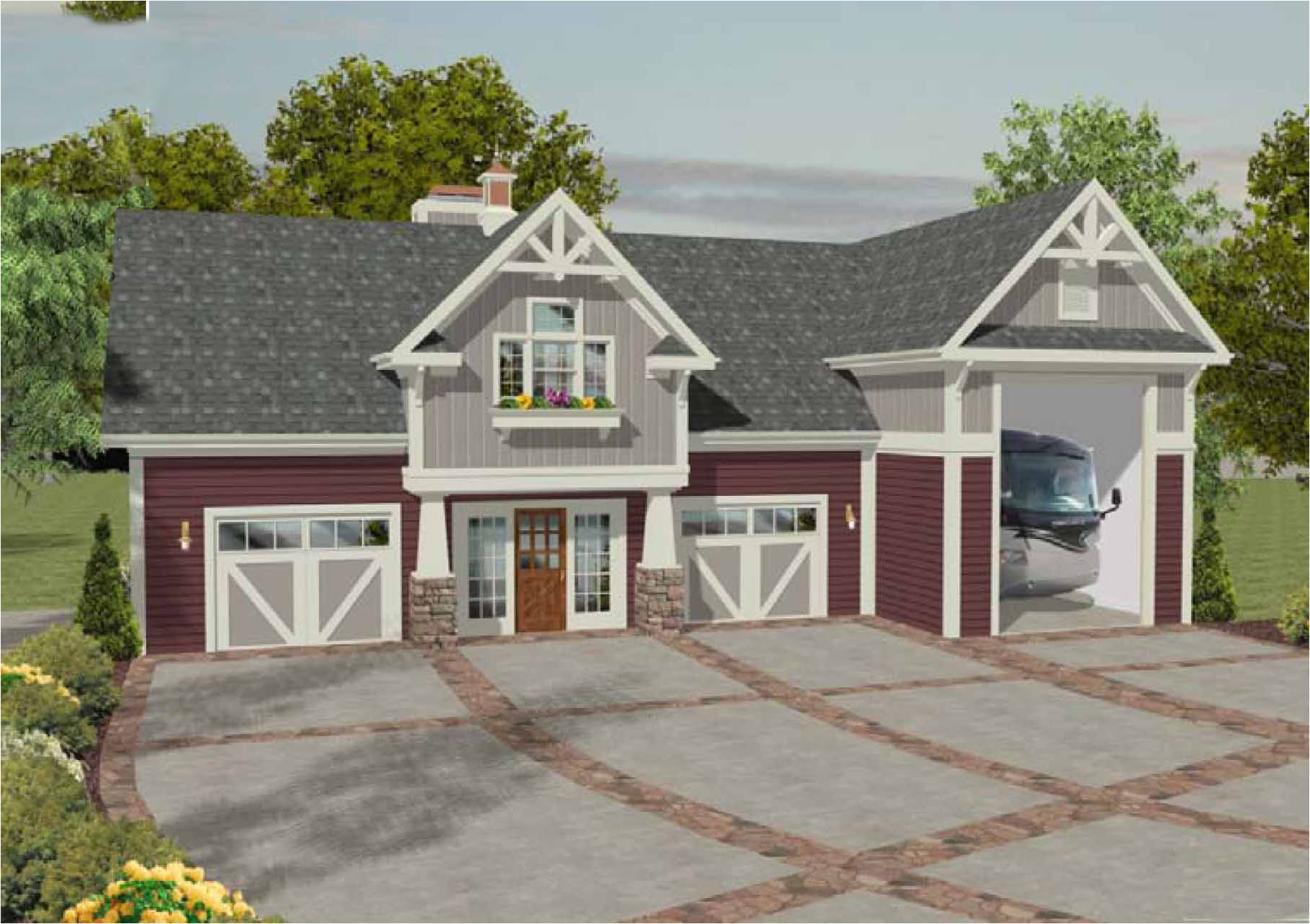 carriage house plan 20083ga