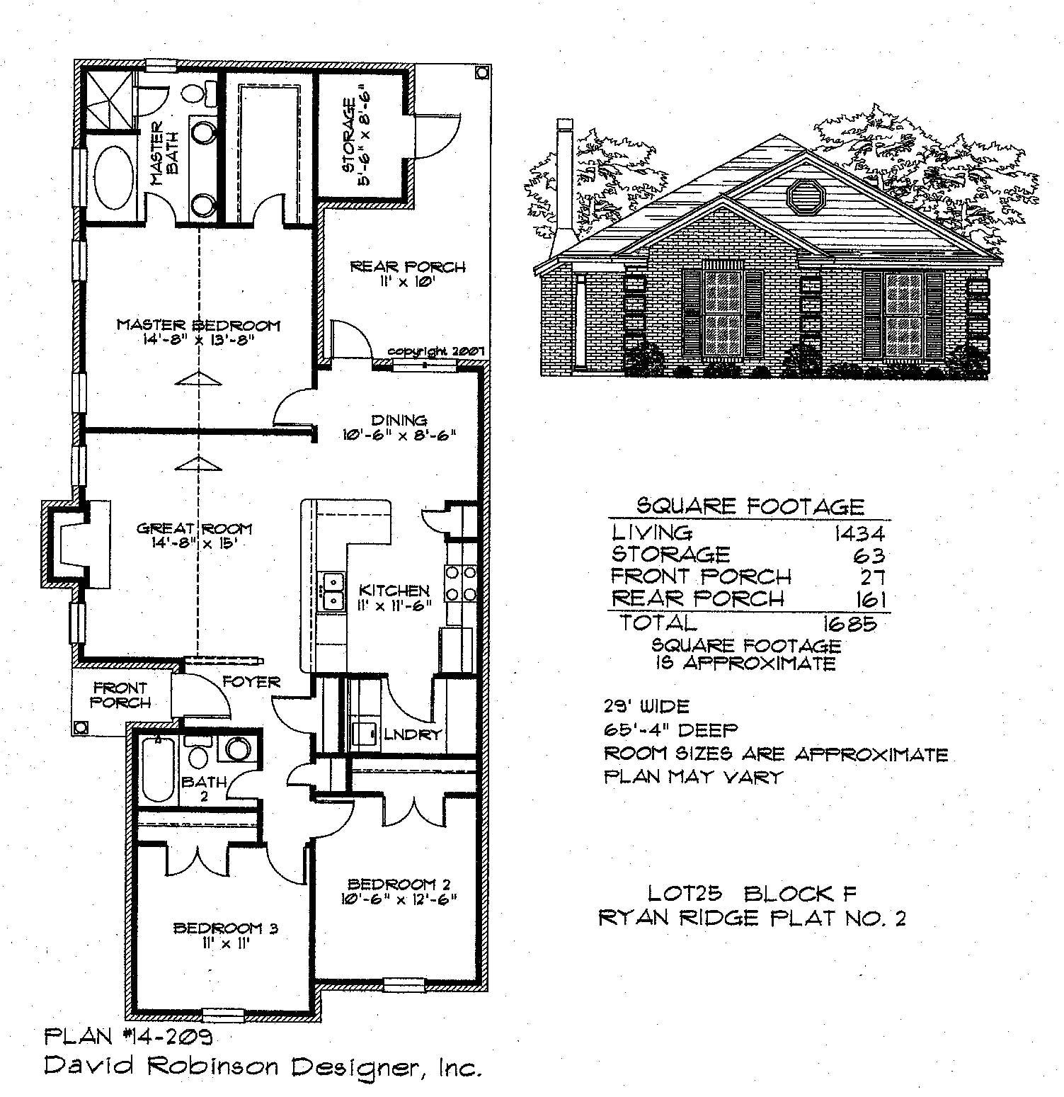 floor plans of ryan homes