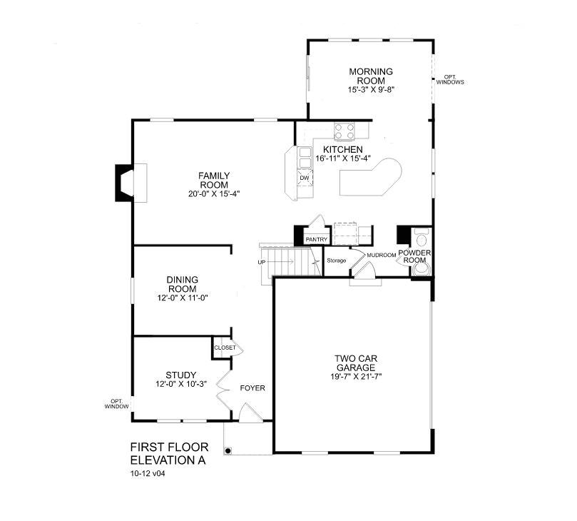 ryan homes mozart floor plan