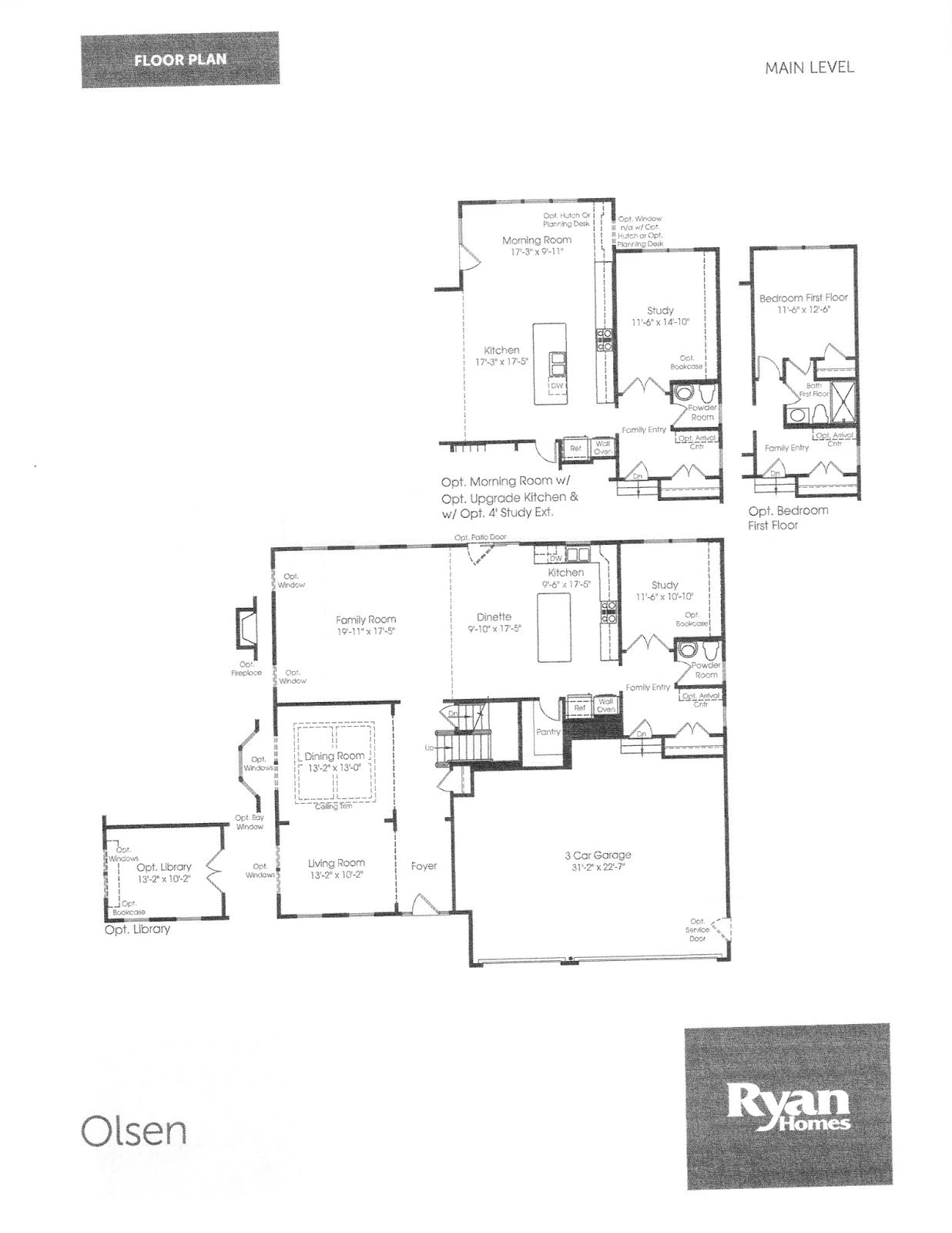 ryan homes strauss model floor plan inspirational our journey to a strauss building a ryan home