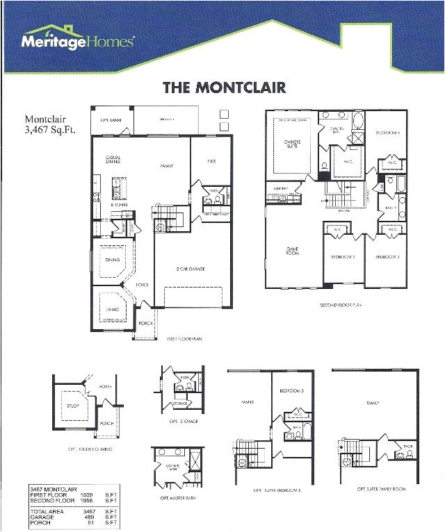 ryland homes orlando floor plan