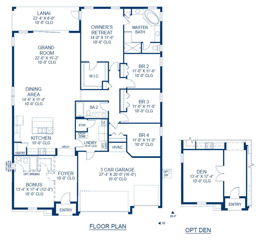 greyhawk landing inverness floor plan new home in tampa florida