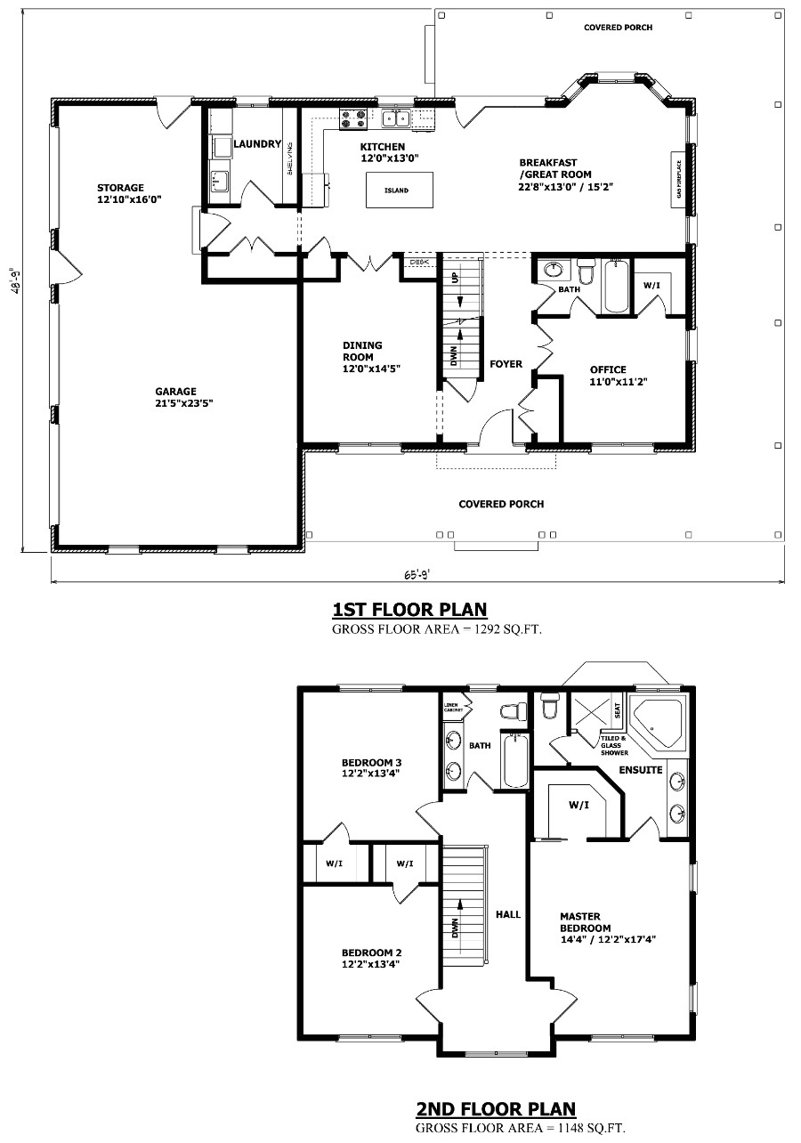the peterborough two storey house plan