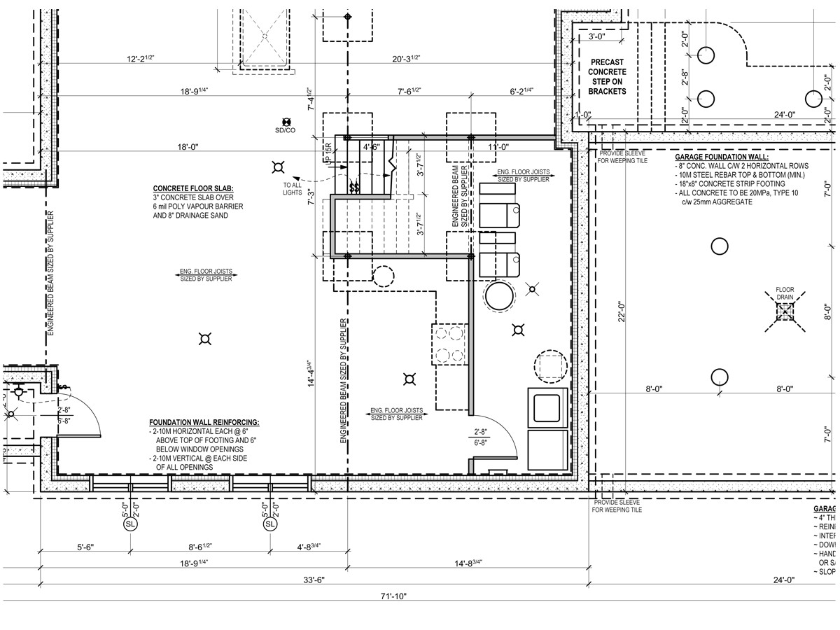sample house plans or by foundation plan sample