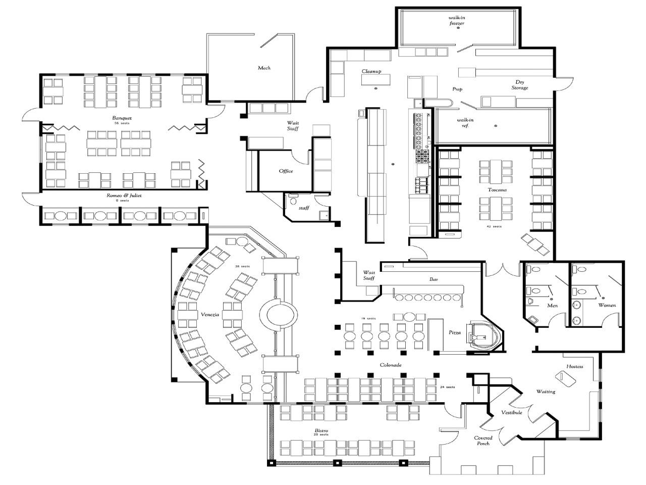 e7b3238d449394b1 sample restaurant floor plans restaurant floor plan design