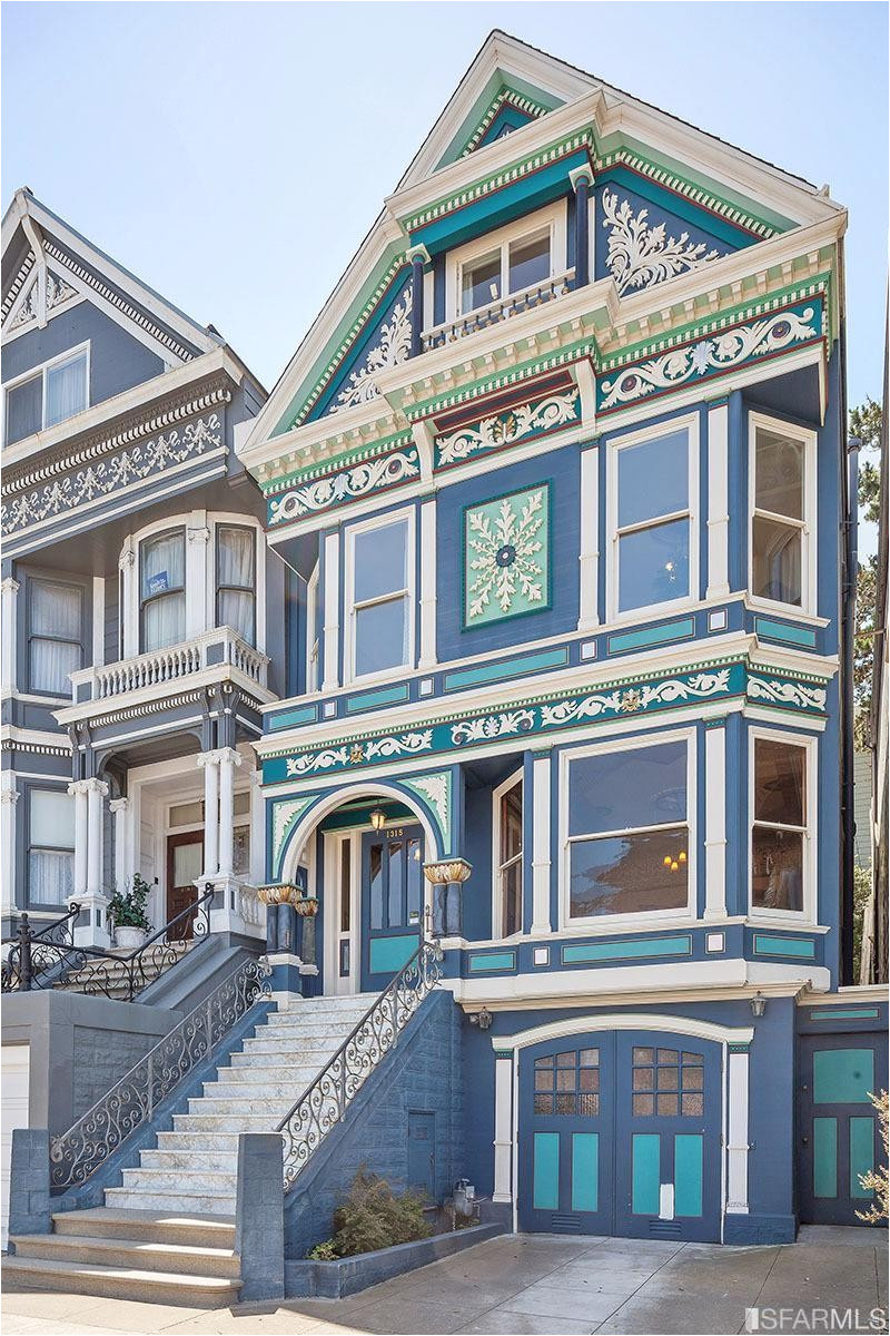 San Francisco Style House Plans San Francisco Victorian House Floor