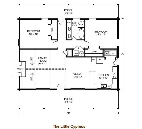 Satterwhite Log Home Floor Plans Little Cypress Log Home Plan by Satterwhite Log Homes