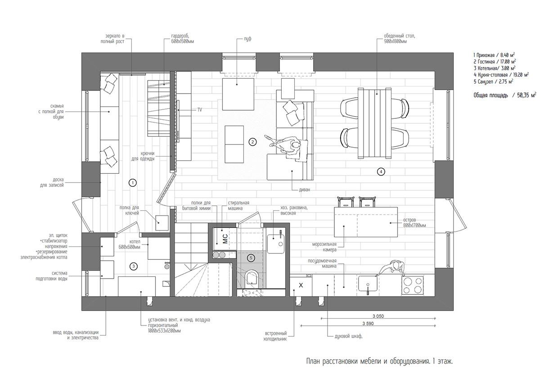 Scandinavian Home Design Plans Duplex Penthouse with Scandinavian Aesthetics Industrial