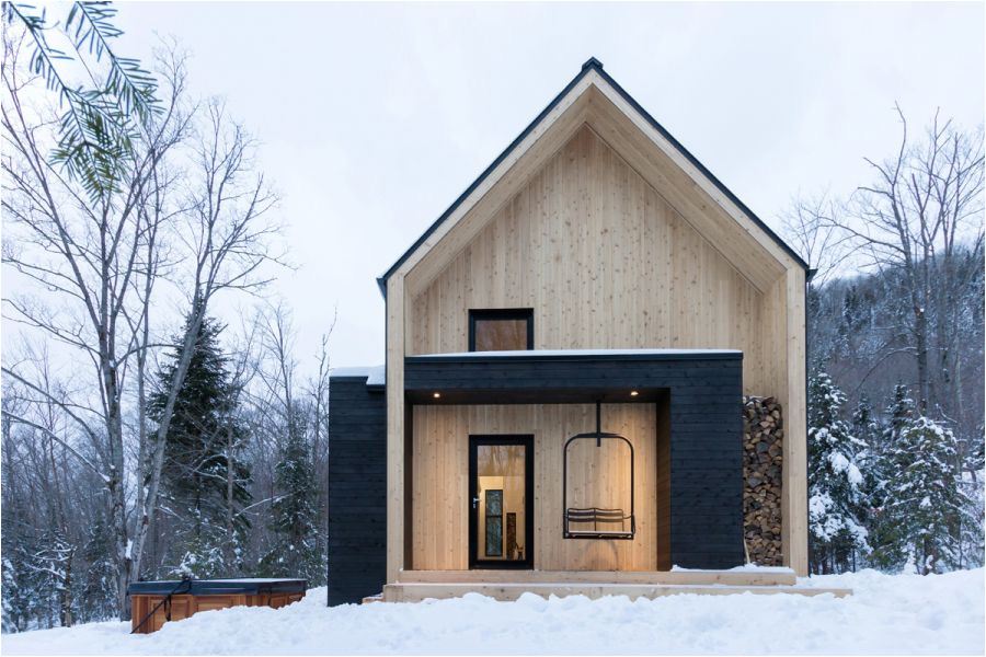 modern scandinavian house in canada