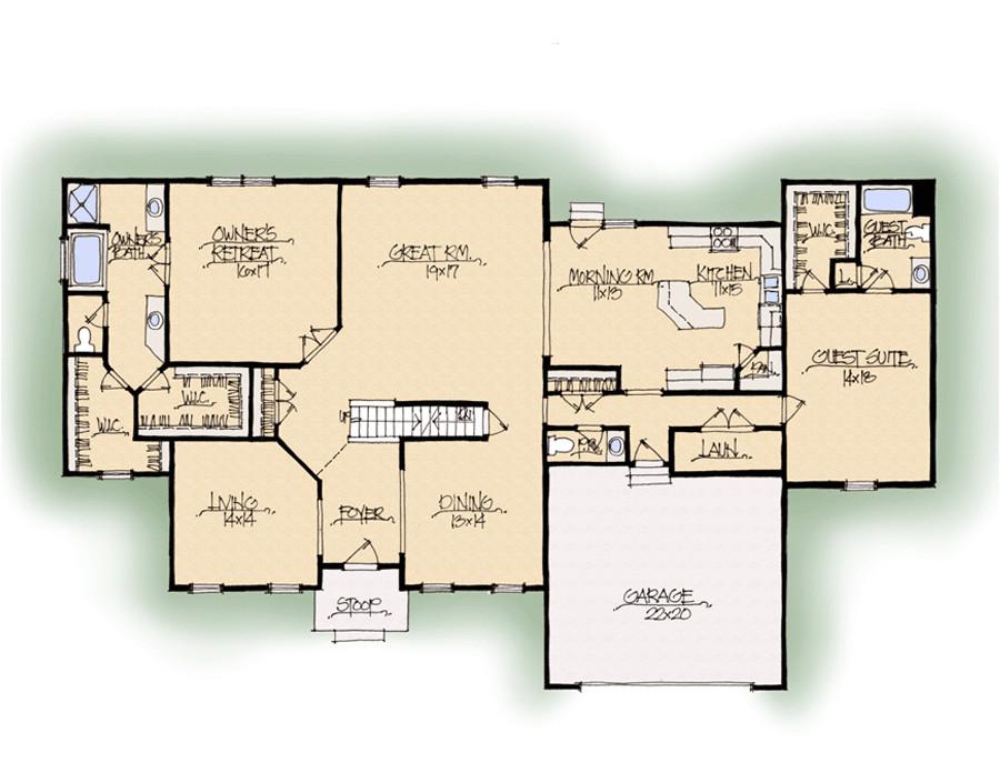 schumacher homes house plan detail 2