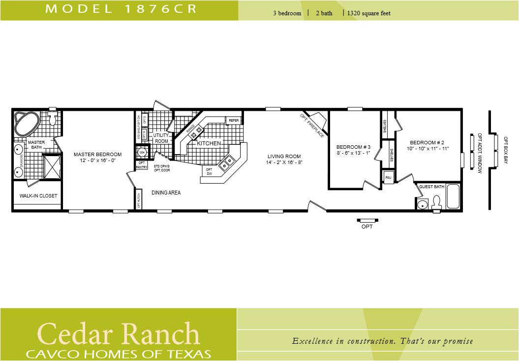 single wide mobile home floor plans 2 bedroom