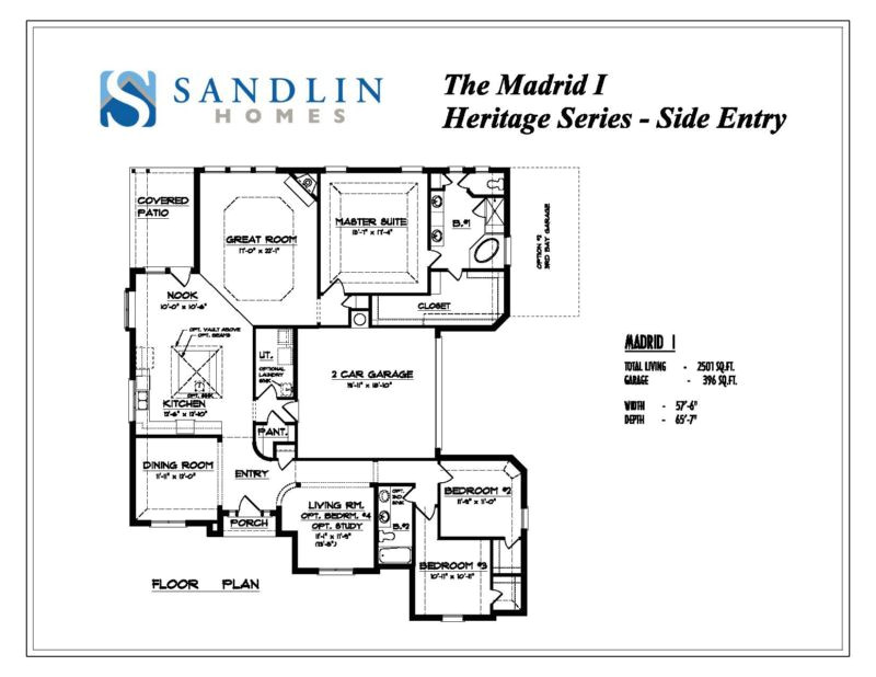 sandlin floorplans madrid i se