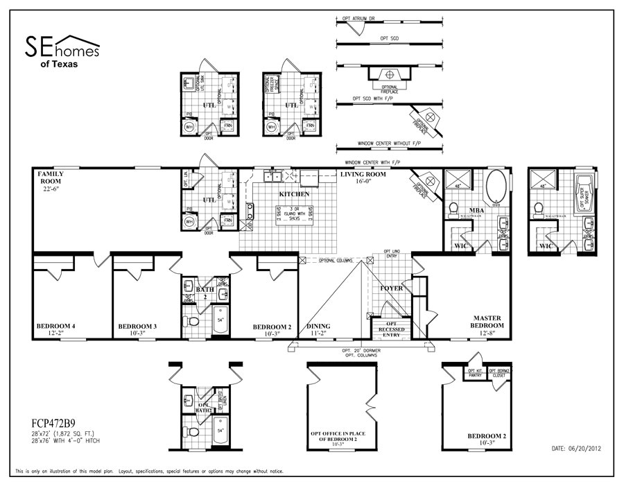 southern energy homes of texas floor plans